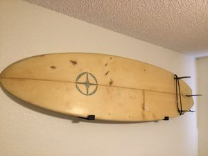 CODA 6 foot Surfboard and Wall Rack for Sale in Lake Helen, FL