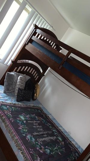 Bunk Beds with two mattresses included for Sale in Detroit, MI