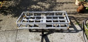 Aluminum cargo carrier trailer hitch carrier for Sale in Lake Stevens, WA
