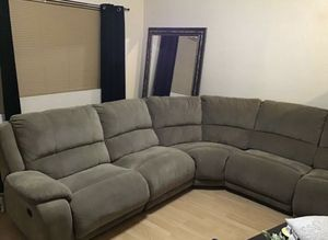 LAZY BOY MICRO FIBER SECTIONAL 1400$ COUCH for Sale in Mesa, AZ
