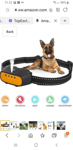 Spray bark collar for Sale in Los Angeles, CA