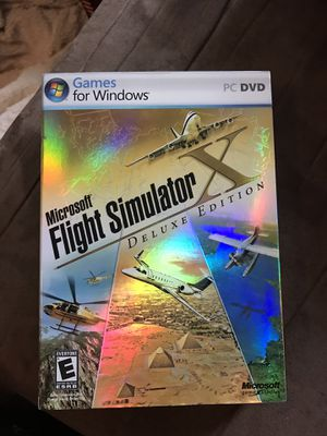 Microsoft Flight Simulator x Deluxe Edition for Sale for sale  Providence, RI