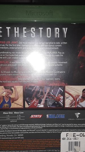 NBA2K 16 for Sale in Lacey, WA