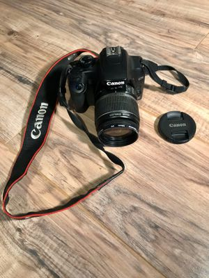 Canon Rebel XS DSLR Camera with EF-S 18-55mm f/3.5-5.6 IS Lens for Sale in MIDDLE CITY WEST, PA