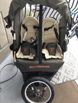 Schwinn jogging double stroller for Sale in Atlanta, GA