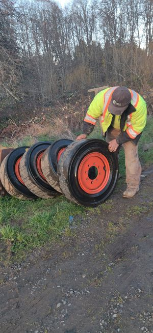 Solid skid steer tires for Sale in Tigard, OR