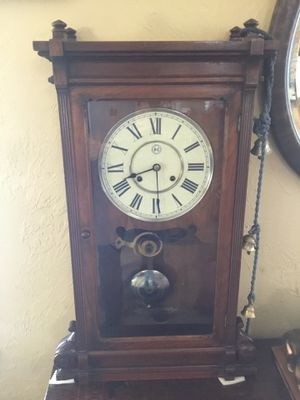 Antique Grandmother 1895 Lincoln Clock for Sale in Vancouver, WA