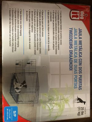 Medium dog kennel - New for Sale in Chicago, IL