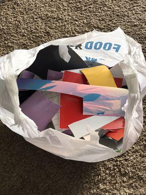 Decal vinyl scraps for Sale in Ford, VA