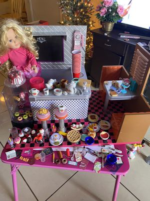 Our generation doll cafe for Sale in Richardson, TX