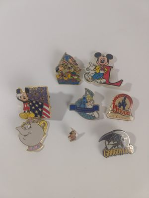 Rare Older Disney Pins - Lot of 8 Pins for Sale in Oceanside, CA