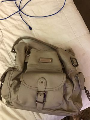 Heavy grey leather purse with dust bag for Sale in Las Vegas, NV