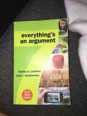 everything's an argument english 1a book for Sale in Fontana, CA