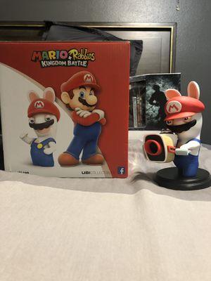 Mario rabbids toy figure Nintendo for Sale in Riverside, CA