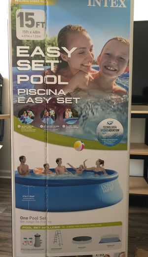 INTEX 15 x 48 easy set pool for Sale in Lexington, KY