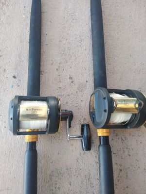 Shimano TLD 30....2 speed/ star rods for Sale in Pembroke Pines, FL