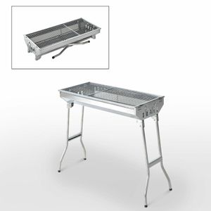 "🔥🍗29"" Stainless Steel Foldable BBQ Charcoal Grill Backyard Party for Sale in Burbank, CA"