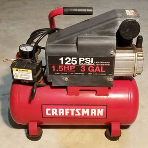 Air Compressor | Craftsman | 125psi | 1.5hp | 3gal for Sale in Norman, OK