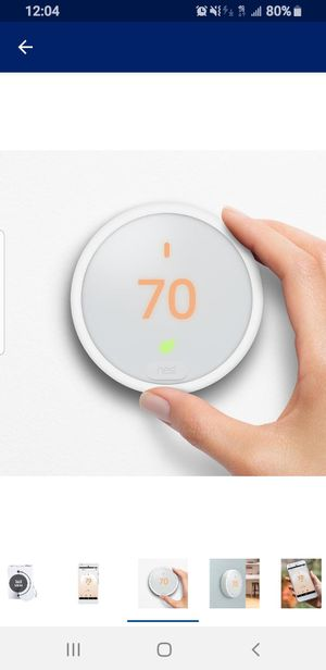 Nest thermostat (Brand new $70) for Sale in Rochester, MI