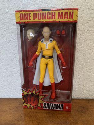 McFarlane toys one punch man action figure Saitama for Sale in Tempe, AZ