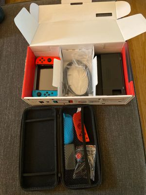 Nintendo switch newest version barely used for Sale in El Cajon, CA