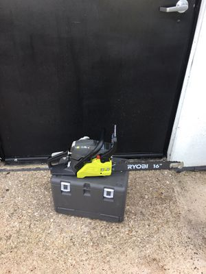 "Ryobi chain saw 16"" gas for Sale in Arlington, TX"
