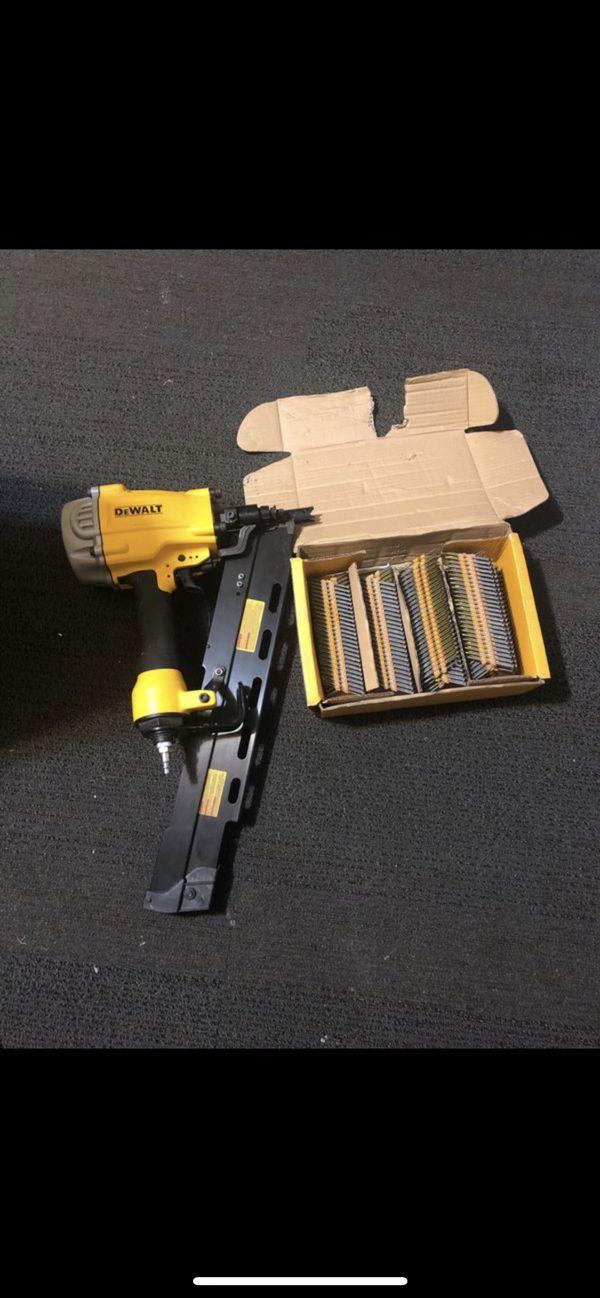 Dewalt framing gun