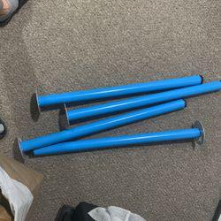Ikea Desk Legs Blue for Sale in Seattle,  WA