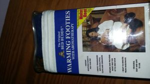The Original Bed Buddy Warming Footies with Aromatherapy Hot / Cold Therapy for Sale in Hampton, VA
