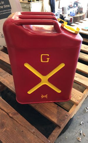 Restored Blitz metal gas can for Sale in Cheyenne, WY