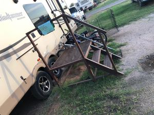 Metal camper porch 200$ for Sale in Gardendale, TX