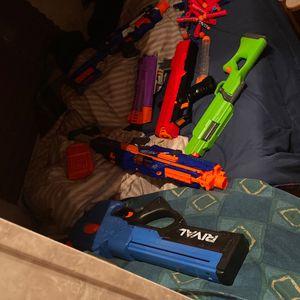 Nerf Gun Lot for Sale in East Jordan, MI