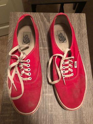 Vans red size 11.5 men's for Sale in Portage, MI