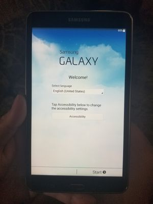 Samsung tablet for Sale in Wadena, MN