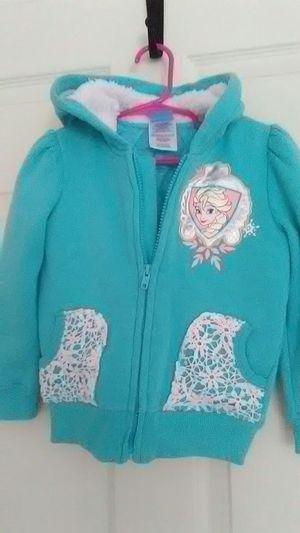 Size 4T brand new Elsa hoodie/jacket for Sale in Newport News, VA