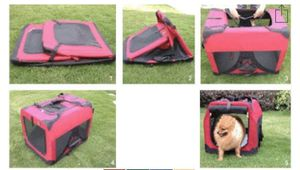 topPets Portable Soft Pet Carrier or Crate or Kennel for Dog, Cat, or Other Small Pets. Great for Travel, Indoor, and Outdoor for Sale in Louisville, KY