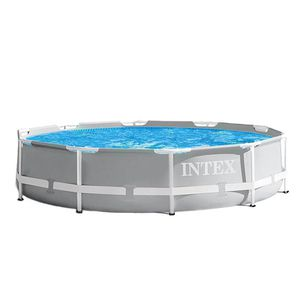 Intex 26711EH 12ft x 30in Prism Metal Frame Above Ground Swimming Pool w/ Pump for Sale in Fresno, CA