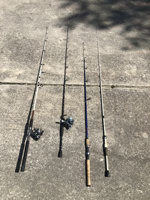 Fishing rods Catfishing and Bass for Sale in Coats, NC