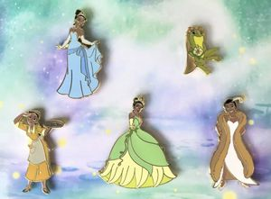 Disney Princess And The Frog - 10th Anniversary - Tiana Pin Set - Limited Edition 1500 for Sale in Fairfield, CA