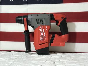 MILWAUKEE M18 FUEL CORDLESS 1-1/8in ROTARY HAMMER TOOL ONLY SOLO LA HERRAMIENTA for Sale in San Bernardino, CA