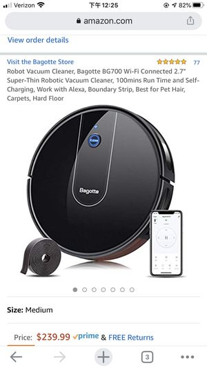 robot vacuum cleaner for Sale in Queens, NY