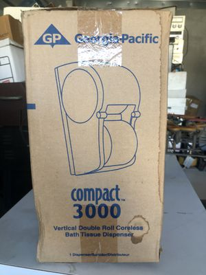 Georgia-Pacific Vertical Double Roll TP Dispenser for Sale in Gilroy, CA