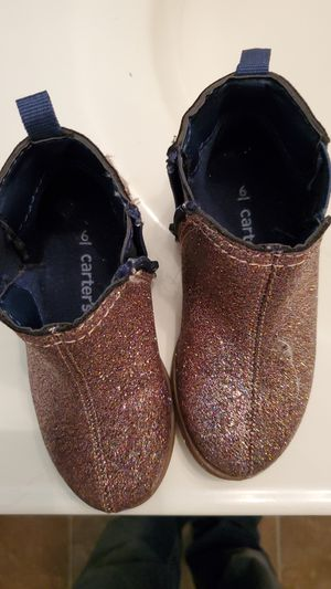 Girls size 6T Carter boots for Sale in Taylor, MI