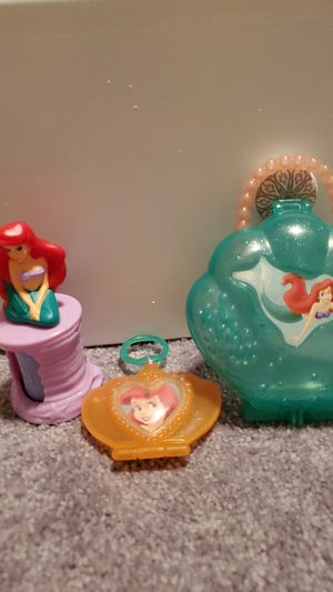 Set of 3 Disney The Little Mermaid Colkectible McDonalds Toys for Sale in Mission Viejo, CA