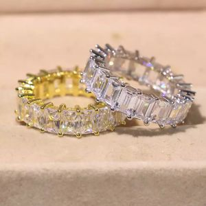 Unisex 925 Sterling Silver and 18K Gold plated Matching Ring Set- Prince Cut-Code F008L for Sale in Washington, DC