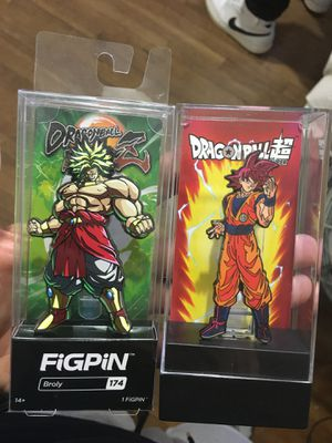 Dragon ball z figpins for Sale in Industry, CA