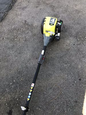 RYOBI 4-Cycle 30cc Attachment Capable Straight Shaft Gas Trimmer for Sale in Santa Ana, CA