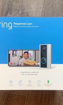 Ring Doorbell Peephole Cam for Sale in Shoreline,  WA