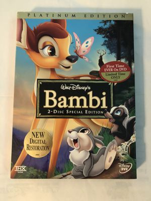 Disney Bambi DVD for Sale in Tallahassee, FL