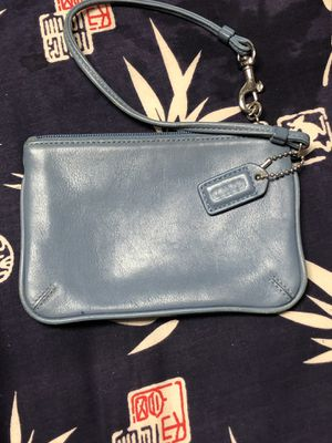 Coach wristlet leather for Sale in Adelphi, MD